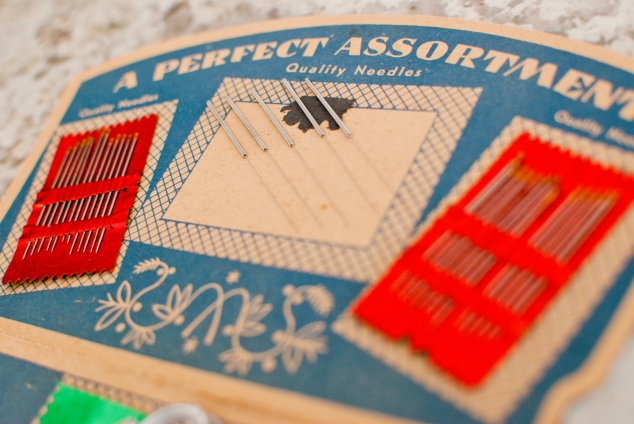 Comparison of acupuncture needles to sewing needles