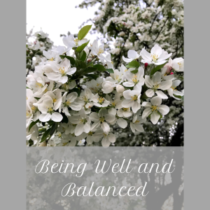 Being Well and Balanced, Blooming Tree Image