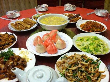 Colorful Chinese Food