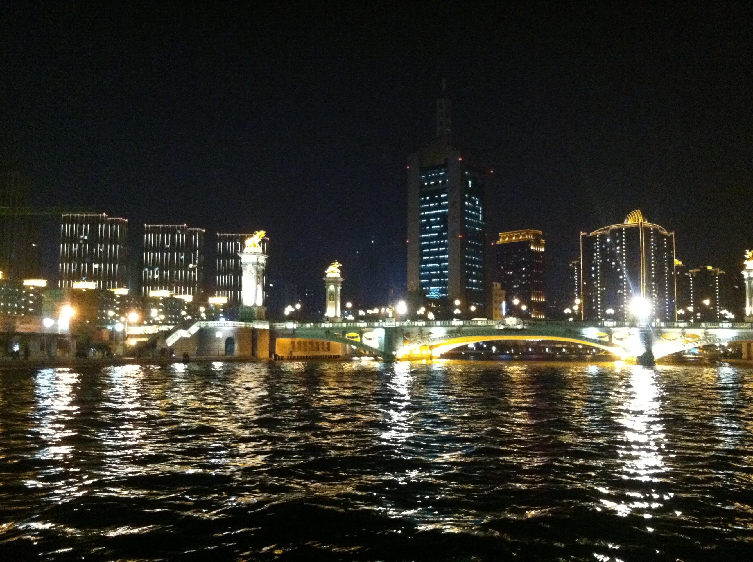 Tianjin River Boat Ride