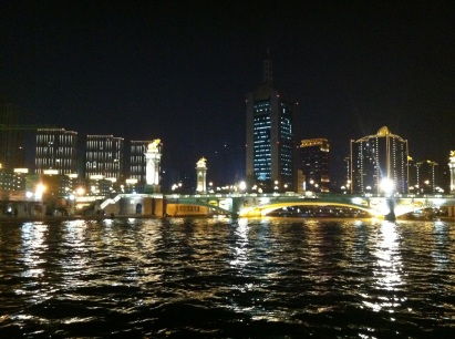 Tianjin River Boat Ride